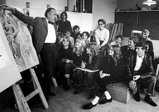 1967 Teckningskonsulent Erik Segerberg foto_Per-Ola Holm